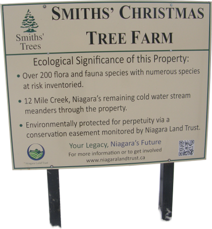 Smith's Christmast Tree Farm Ecological Significance